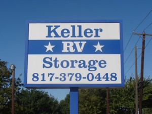 Exclusive RV Storage Facility in Keller TX